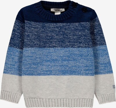 ESPRIT Sweatshirt in blau / dunkelblau / hellgrau: Frontalansicht