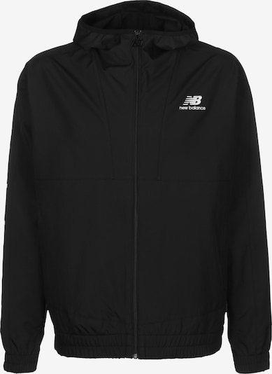 new balance Windbreaker 'MJ01502'' in schwarz / weiß, Produktansicht