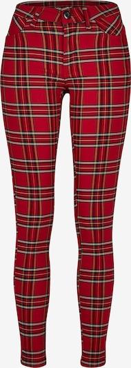 Urban Classics Spodnie 'Tartan' w kolorze czerwony / czarny / białym, Podgląd produktu