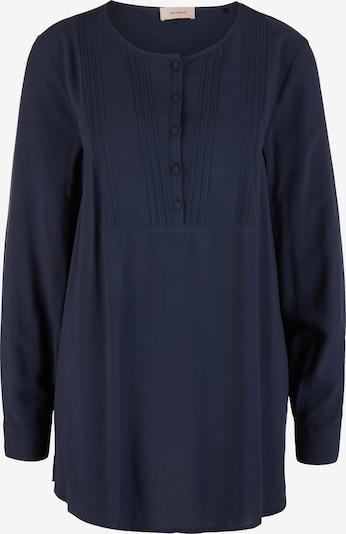 TRIANGLE Bluse in navy, Produktansicht