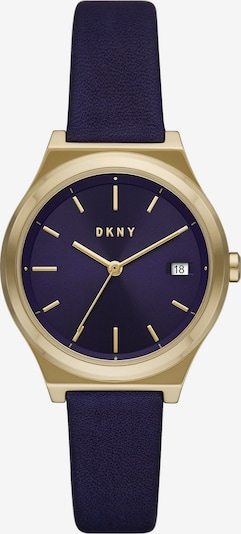 DKNY Analoguhr in marine / gold, Produktansicht