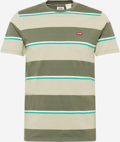 LEVI'S T-Shirt en turquoise / kaki / vert pastel / rouge / blanc, Vue avec produit