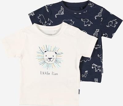 STACCATO T-Shirt in navy / türkis / himmelblau / gelb / weiß, Produktansicht