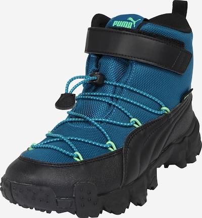 PUMA Čizme za snijeg 'Maka' u plava / neonsko zelena / crna, Pregled proizvoda