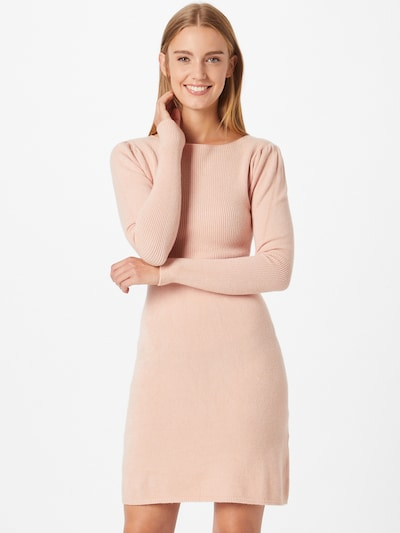 Rochie tricotat 'DALEY' WAL G. pe roz pastel, Vizualizare model