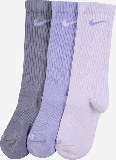 NIKE Športne nogavice | majnica / pastelno lila / svetlo lila barva, Prikaz izdelka