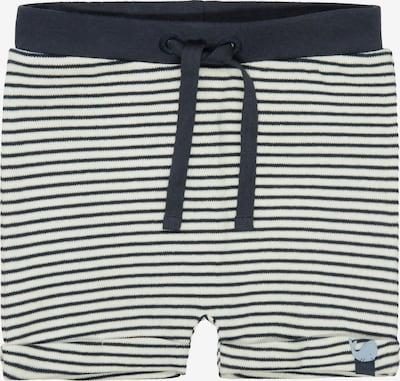 STACCATO Shorts in dunkelblau / weiß, Produktansicht