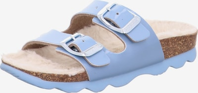 SUPERFIT Sandales en bleu clair, Vue avec produit