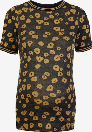 Supermom Shirt ' Poppy ' in de kleur Geel / Zwart, Productweergave