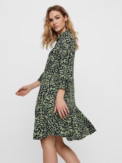 AWARE by Vero Moda Kleid in hellgrün / schwarz, Modelansicht