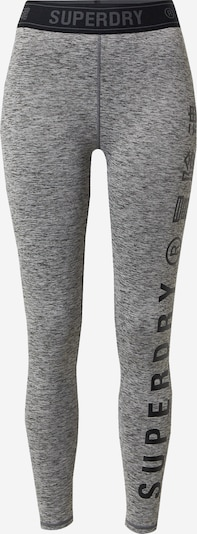 Superdry Sports trousers in mottled grey / Black, Item view