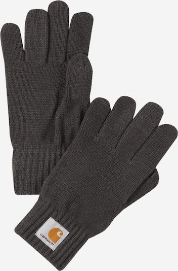 Mănuşi cu degete Carhartt WIP pe galben șofran / gri / alb, Vizualizare produs