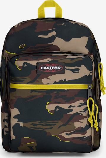 Rucsac EASTPAK pe maro / castaniu / maro deschis / galben / negru, Vizualizare produs