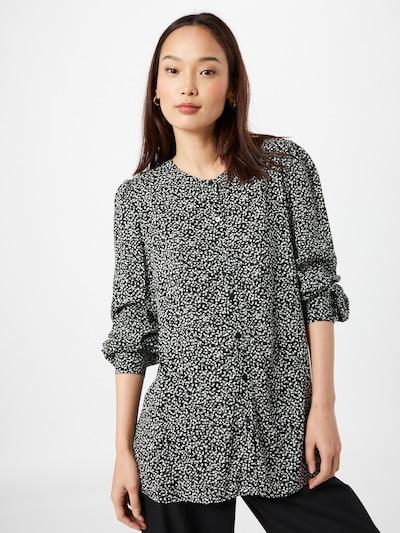 ESPRIT Bluse i sort / hvid, Modelvisning