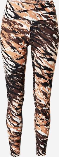 Casall Spodnie sportowe w kolorze beżowy / czarny / białym, Podgląd produktu