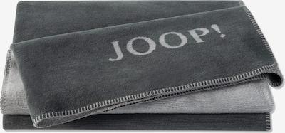JOOP! Deken in de kleur Lichtgrijs / Donkergrijs, Productweergave