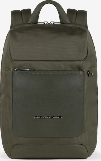 Piquadro Macbeth Rucksack RFID 36 cm Laptopfach in grün, Produktansicht