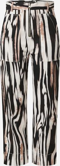 PINKO Pantalon 'AMICO' en rose ancienne / noir / blanc, Vue avec produit