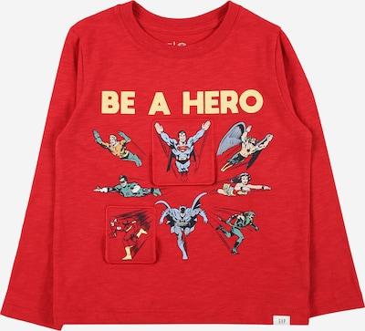GAP T-shirt i sand / marinblå / rökblå / pastellgul / röd, Produktvy