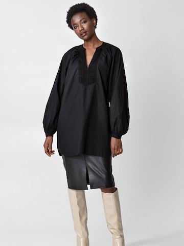 Indiska Bluse 'Leni' in Schwarz