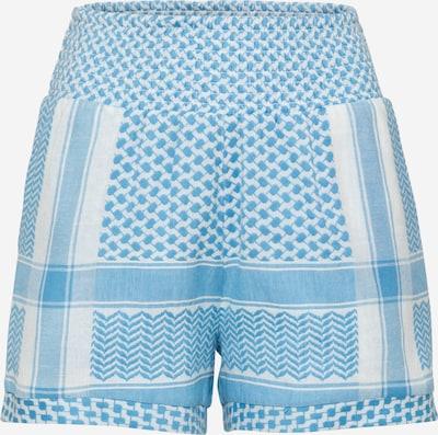 Cecilie Copenhagen Spodnie 'Teresa' w kolorze jasnoniebieski / białym, Podgląd produktu