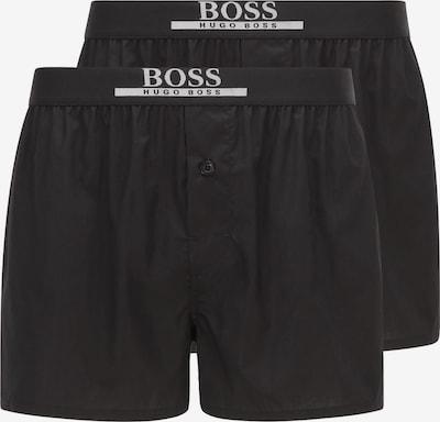 BOSS Casual Boxershorts in de kleur Zwart / Wit, Productweergave
