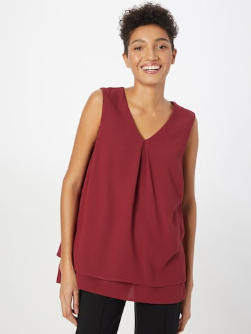 MORE & MORE Bluse in Rot