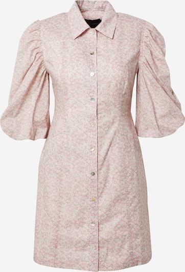 Birgitte Herskind Robe-chemise 'Ami' en bleu pastel / rose / blanc, Vue avec produit