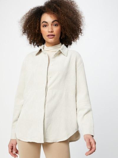 Gina Tricot Блуза 'Cory' в бяло: Изглед отпред