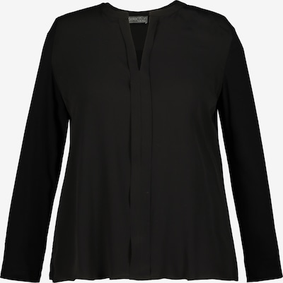 Ulla Popken Shirt in de kleur Zwart, Productweergave