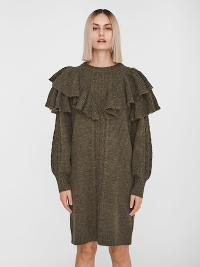 sötétzöld Noisy may Kötött ruhák, Modell nézet