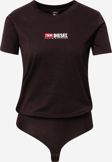 DIESEL Shirt body in de kleur Watermeloen rood / Zwart / Wit, Productweergave