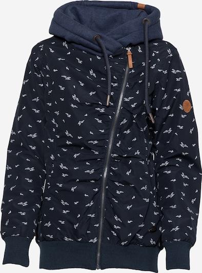 Alife and Kickin Prijelazna jakna 'Kiddo' u morsko plava / bijela, Pregled proizvoda
