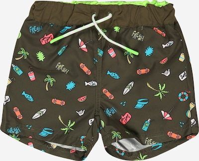 NAME IT Zwemshorts in de kleur Groen / Gemengde kleuren, Productweergave