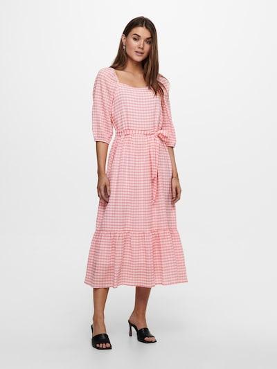 Rochie tip bluză 'Lotus' ONLY pe roz / roz deschis / alb, Vizualizare model