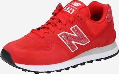 new balance Niske tenisice '574' u crvena / srebro, Pregled proizvoda