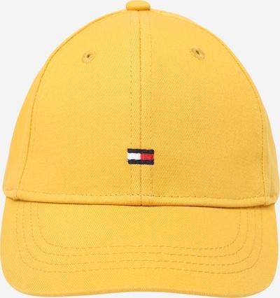 TOMMY HILFIGER Шапка с периферия в нейви синьо / жълто / червено / бяло, Преглед на продукта