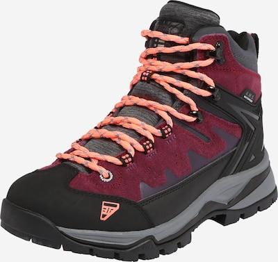 ICEPEAK Ležerne čizme 'Wynn' u ljubičasta / crvena / crna, Pregled proizvoda