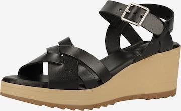 KICKERS Sandale in Schwarz