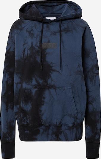 Rotholz Sweatshirt in dunkelblau / schwarz, Produktansicht