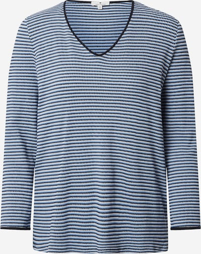 TOM TAILOR T-shirt in navy / weiß, Produktansicht