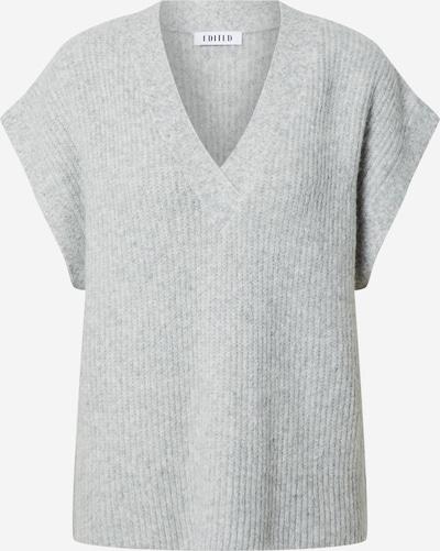 EDITED Pull-over 'Hilla' en gris / gris chiné, Vue avec produit