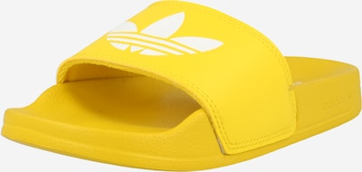 ADIDAS ORIGINALS Pantolette i gul / vit, Produktvy