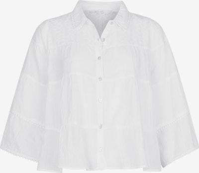 Isla Ibiza Bonita Kurzbluse in weiß, Produktansicht