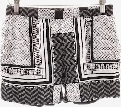 modström Shorts in XS in schwarz / weiß, Produktansicht