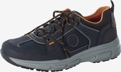 RIEKER Athletic lace-up shoe in navy / dark orange, Item view