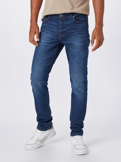 Only & Sons Jeans 'Loom' in de kleur Donkerblauw, Modelweergave