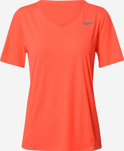 NIKE Functioneel shirt 'City Sleek' in de kleur Mandarijn, Productweergave