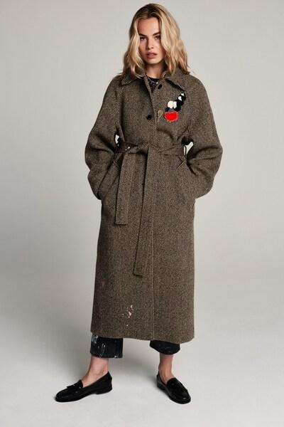 ZOE KARSSEN Mantel in braun / mischfarben, Modelansicht