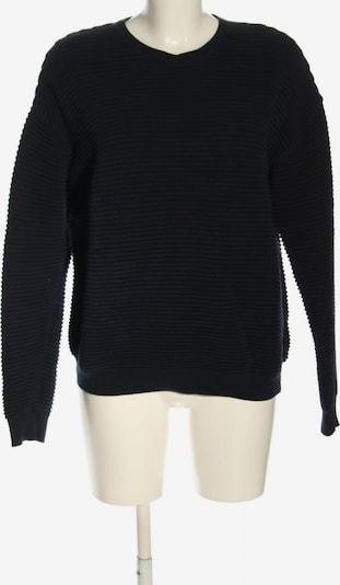 basic apparel Rundhalspullover in S in schwarz, Produktansicht